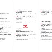 2013 - Convegno a Genova, Palazzo Ducale