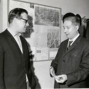Alberto Lepori e Nando Fabro